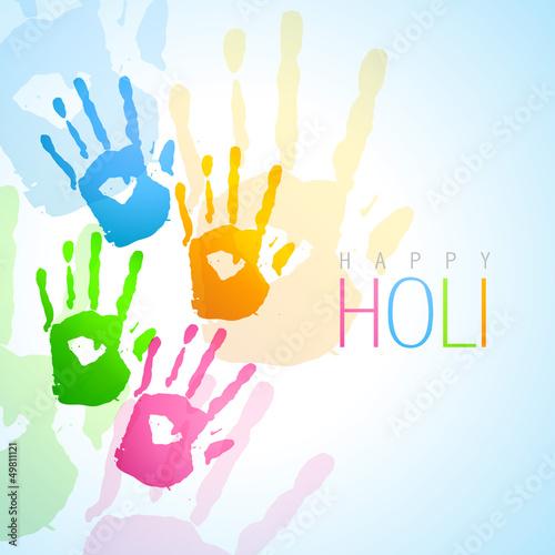 Fototapeta colorful hands background obraz na płótnie