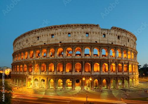 Fotografie, Obraz  Colosseo Roma