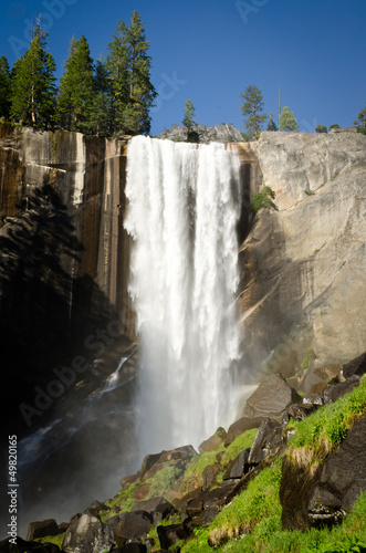 Photo  Yosemite National Park - Vernal Fall