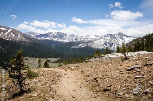 Photo  Yosemite National Park - Gaylor Lakes trail