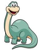 Fototapeta Dinusie - illustration of Cartoon dinosaur