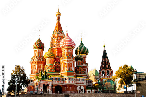 Wall Murals Moscow St. Basil Cathedral, Red Square, Moscow