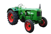Alter Grüner Traktor