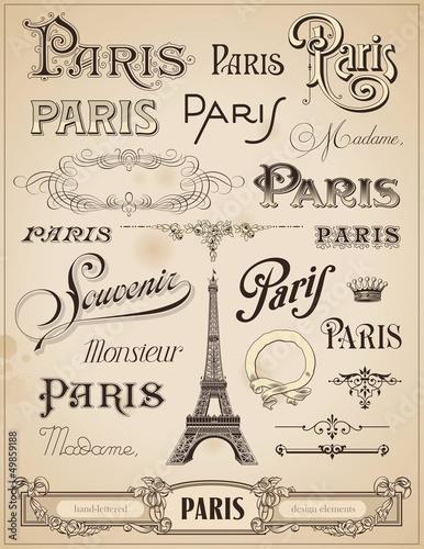 paryska-kaligrafia-zestaw-recznie-projektowanych-elementow