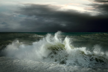 FototapetaView of storm seascape