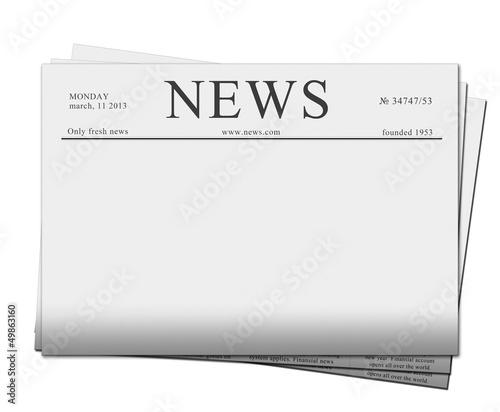 news papers Fototapeta