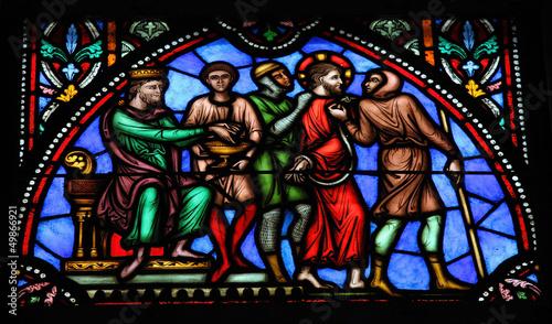 Fotografia Jesus on Good Friday - Stained Glass
