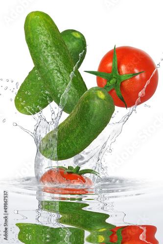Recess Fitting Splashing water Gemüse 207