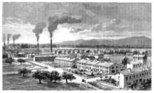 Worker's Housing Estate - Cité Ouvrière - 19th Century