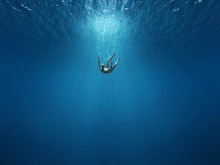Man Falls Into The Depths