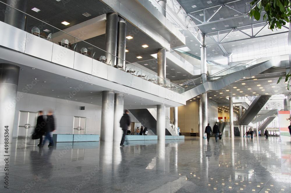 Fototapeta shopping center