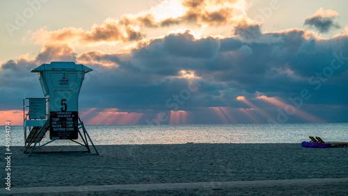 Fotografia, Obraz  Morning on a beach