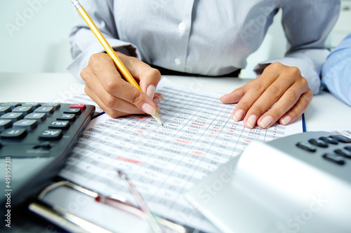 Fotografía  Accounting notes
