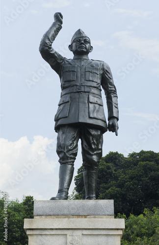statue of Subhas Chandra Bose, Bangalore, karnataka, India Wallpaper Mural