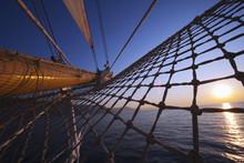 Clipper Ship In The Sea, Amalf...