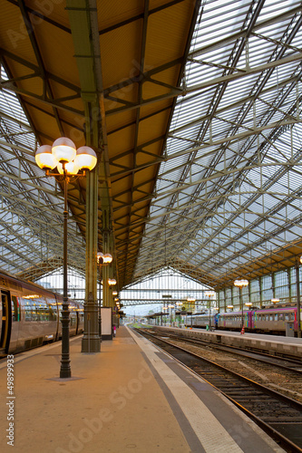 Foto auf AluDibond Bahnhof railway station, Tours