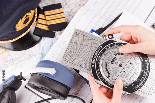 Airplane pilot equipment