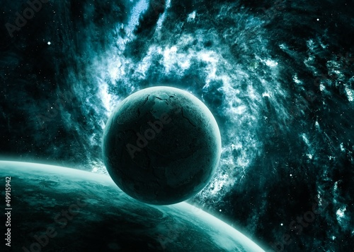 Cool space background