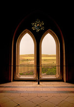 Moorish Window Backlit In The ...