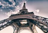 Fototapeta Fototapety z wieżą Eiffla - Colors of Sky over Eiffel Tower, Paris