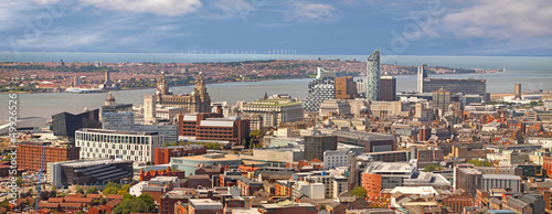 Liverpool and the River Mersey