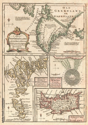 mapa-1747-wysp-polnocnoatlantyckich