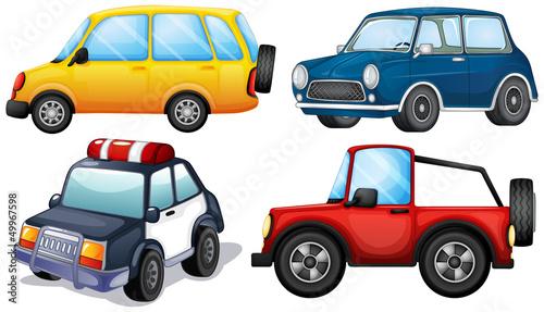 rozne-rodzaje-i-kolory-samochodow