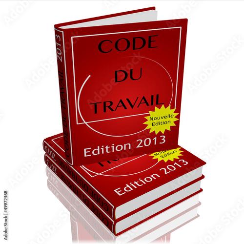 Photo  Code du travail 2013