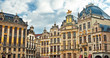 canvas print picture - Grand Place or Grote Markt in Brussels. Belgium