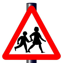 Children Traffic Sign