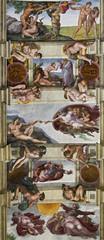 Naklejka Religia i Kultura sixtinische Kapelle Rom