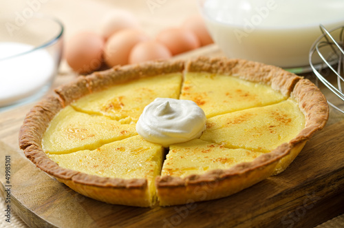 Photo Custard Pie
