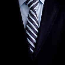 Black Business Suit With A Tie Background
