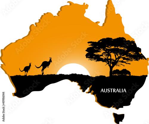 Photo  Australian continent