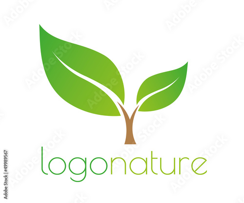 Fotografiet  Nature logo