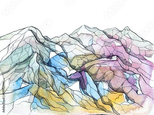 kolorowy-rysunek-z-gorami