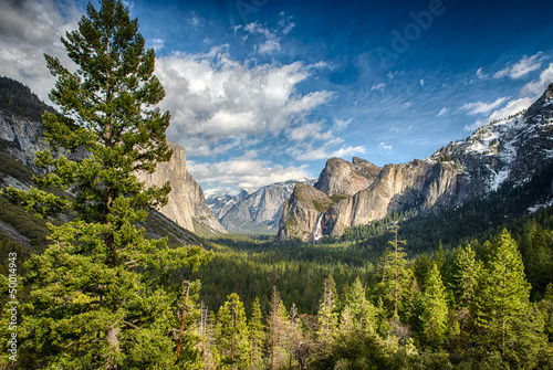 Photo  Tunnel View in Yosemite National Park