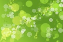 Hintergrund Bokeh Grün Limonade