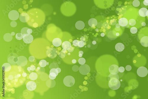 Fényképezés Hintergrund Bokeh grün Limonade