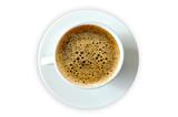 Fototapeta Fototapety z wieżą Eiffla - kawa