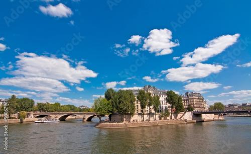 La Seine et l'île Saint-Louis - Paris
