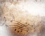 Old music sheet