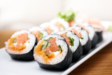 Salmon and caviar rolls - 50081353