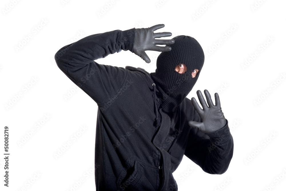 Fototapeta Caught burglar