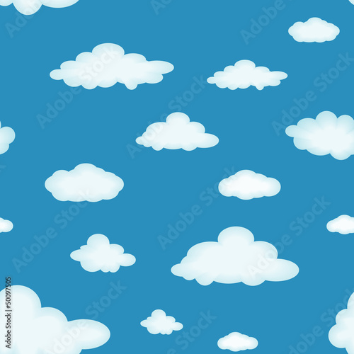 Foto op Aluminium Hemel Cloudy background