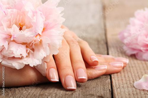 Manicure Fototapet