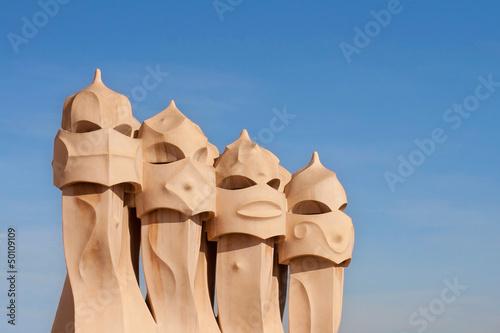Fotografia  Warrior chimneys