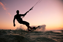 Kite Boarding. Kitesurf Freest...
