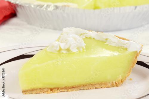 Fotografie, Obraz  macro key lime pie