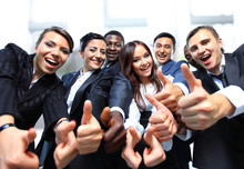 Successful Business People Wit...